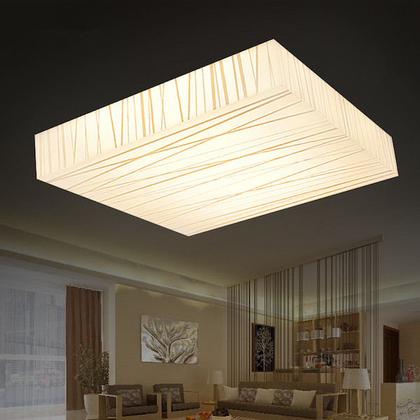 36w Creative Led Ceiling Light With Dimming Remote Control